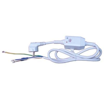 Шнур сетевой с УЗО (230В 16/0,03А ) Универсальный (контакты под разъём)замена 69971, А65151728