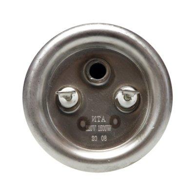 ТЭН RF 1500W, ИТА, нерж, Ø64, М6, клеммы под винт, L200мм, 220V