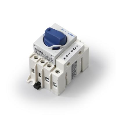 3 x 63 A, переключаемый нулевой полюс, с прямой ручкой, монтируются в электрощитах и на DIN-рейках