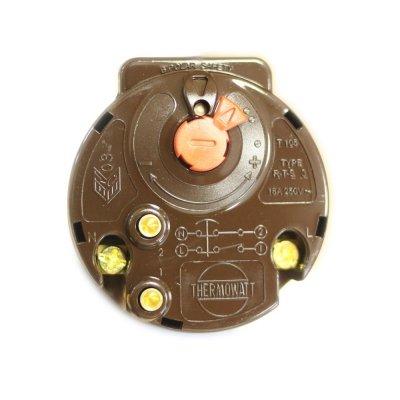 Термостат стержневой RTS3 16A 70oС/83oС (Биполярная термозащита на 83 гр.) (ст.код 181385)        Thermowatt                                                                ,