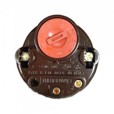 Термостат стержневой RTM 20A 80oС  (предел регулировки 25-80 гр..)      Thermowatt                      коричневый глянцевый корпус                                                            ,