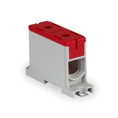1-полюсный, красный, Al/Cu 35-150 мм²