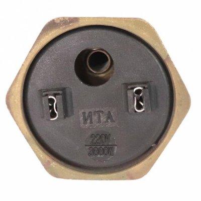 ТЭН RDT 3,0 кВт M6 L-380мм.(Универсальный ТЭН для водонагревателей Аристон, Реал и другие)