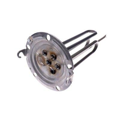 ТЭН 2500 (1000+1500) Вт. M5 Фланец D-125mm 5 отверст. для водонгр. AristonМод.: ABS PRO ECO PW, ABS PRO PLUS PWзамена-65151746,  Ariston VELIS