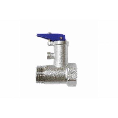 """Клапан предохранит. 1/2"""" 8,5 бар.(0.85 МПа)  (С ручкой) для Аристон"""