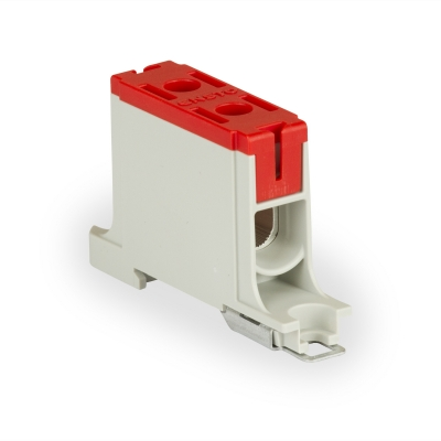 1-полюсный, красный, Al 6-50 мм², Cu 2.5-50 мм²