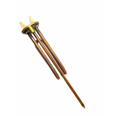 ТЭН RECO RCF 1500 Вт. M6 под анод(фланец 48мм. ТЭН для водонагревателя)(184280, 3401219, 66461)