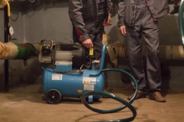 Услуги по гидропневматической и химической промывке системы отопления